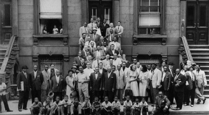 LA photo des jazzmen