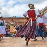 Danse traditionnelle folklorique