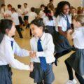 Enfants danse école