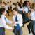 La danse à deux à l'école