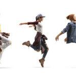 Jump style dance