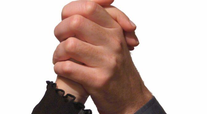 Positions de mains diverses