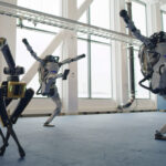 Robot danse